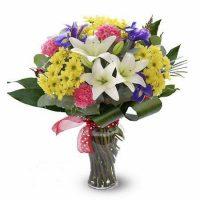 crini asiatici albi -Flori Baia Mare