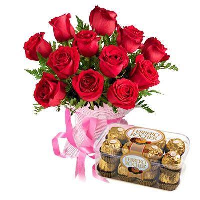 RF_HND_11_98._flower-12-red-roses-n-ferrero-rocher-box