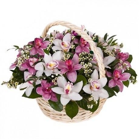 cos-gerbera-trandafiri-eustoma