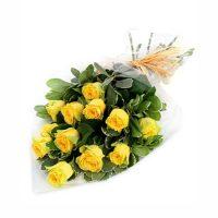 13 trandafiri galbeni - Flori in Baia Mare